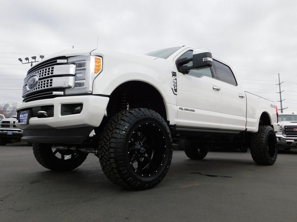 2019 Used Ford SUPER DUTY F-350 PLATINUM at Watts ...