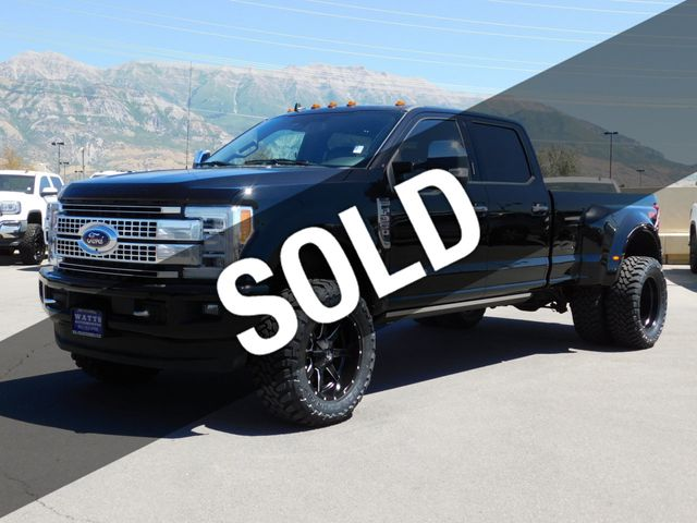 Used Ford F350 Dually Wheels >> 2019 Used Ford Super Duty F 350 Platinum Fx4 At Watts Automotive Serving Salt Lake City Provo Ut Iid 19222008