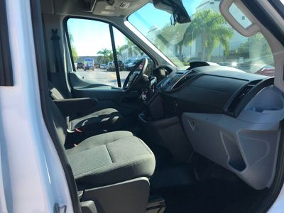 "2019 Ford Transit Passenger Wagon T-350 148"" Med Roof XLT Sliding RH Dr - Click to see full-size photo viewer"