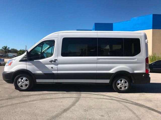 """2019 Ford Transit Passenger Wagon T-350 148"""" Med Roof XLT Sliding RH Dr"""