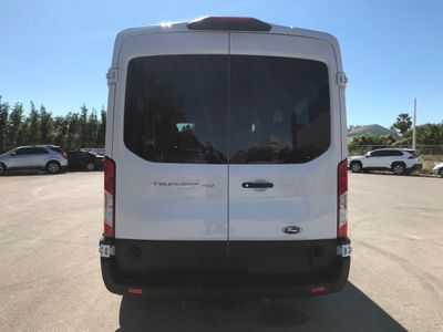 """2019 Ford Transit Passenger Wagon T-350 148"""" Med Roof XLT Sliding RH Dr - Click to see full-size photo viewer"""