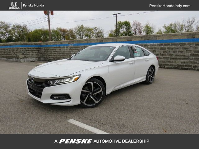 Honda Accord Sedan >> 2019 Used Honda Accord Sedan Sport 1 5t Cvt At Penske Honda Serving Indianapolis Carmel Fishers In Iid 18430607