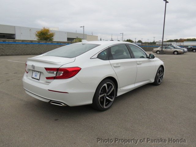 2019 Honda Accord Sedan Sport 1.5T CVT - 18430607 - 5