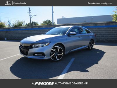 2019 Honda Accord Sedan Sport 1.5T CVT Sedan