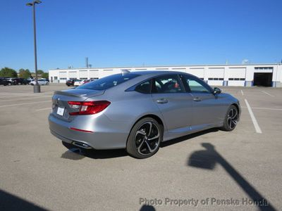 2019 Honda Accord Sedan Sport 1.5T CVT Sedan - Click to see full-size photo viewer