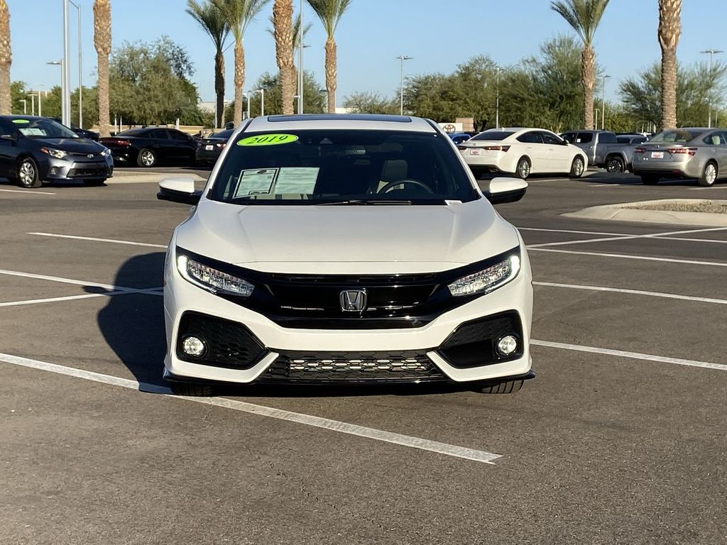 2019 Used Honda Civic Hatchback Sport Touring Cvt At Mini North Scottsdale Serving Phoenix Az Iid 19507467