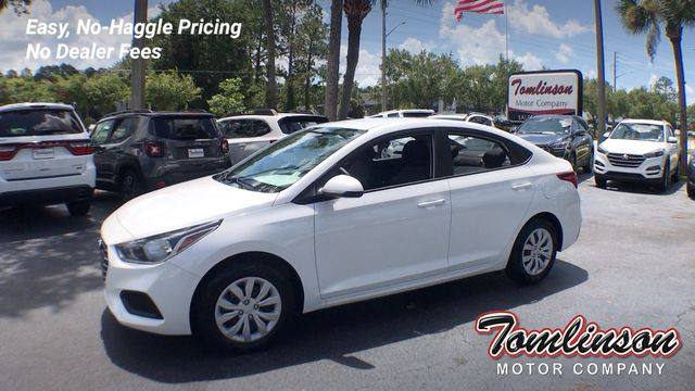 Used Hyundai Accent >> 2019 Used Hyundai Accent Se At Tomlinson Motor Company Serving Gainesville Fl And The Southeast Fl Iid 19123277