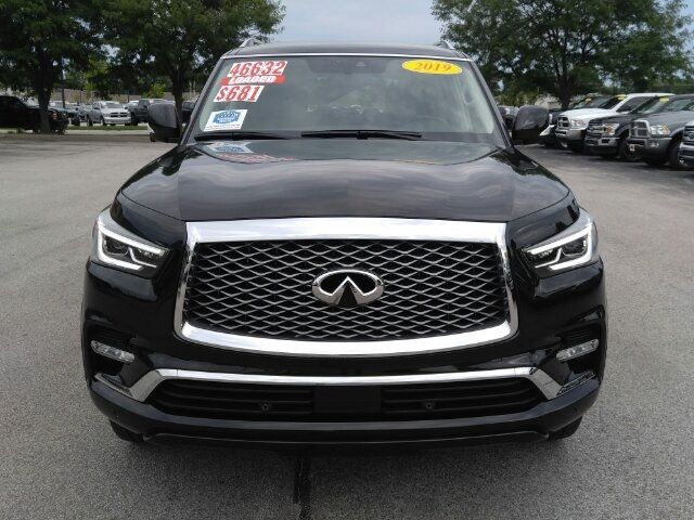 Used Infiniti Qx80 >> 2019 Used Infiniti Qx80 Luxe Awd 20 Premium Alloys Navigation Sunroof Heated Leather At Auto Express Lafayette In Iid 19289818
