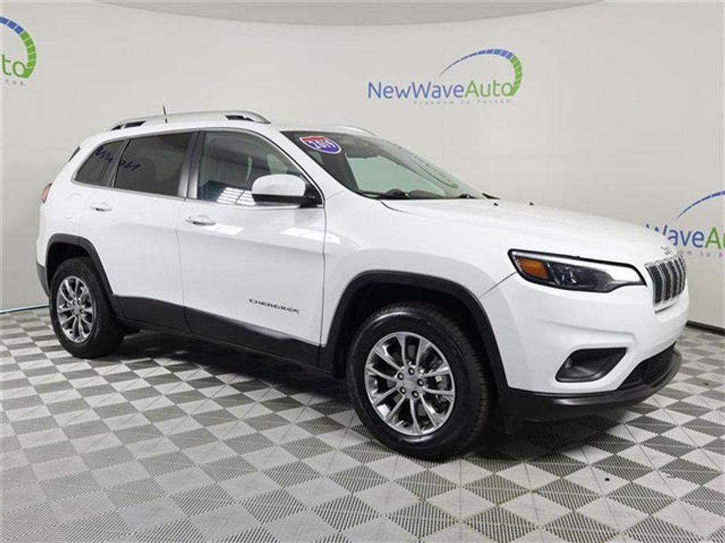 2019 used jeep cherokee latitude plus 4x4 at new wave auto sales