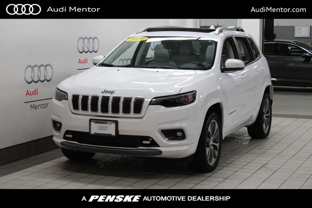 Used 2019 Jeep Cherokee Overland 4x4 For Sale In Mentor Ohio 21111a Penskecars Com