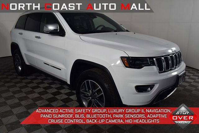 2019 Used Jeep Grand Cherokee Limited At North Coast Auto Mall Serving Bedford Oh Iid 20308214