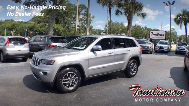 Jeep Grand Cherokee Tires >> 2019 Used Jeep Grand Cherokee Limited W Luxury Group Ii 3 495 Value New Msrp 44 185 At Tomlinson Motor Company Serving Gainesville Fl And The
