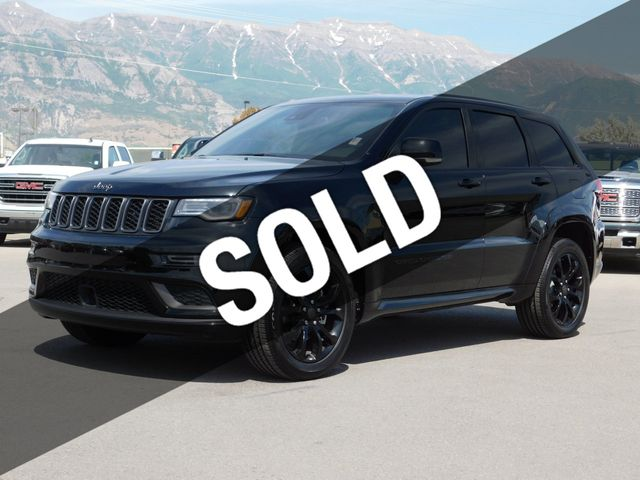 Jeep Grand Cherokee Overland >> 2019 Jeep Grand Cherokee Overland High Altitude Suv For Sale
