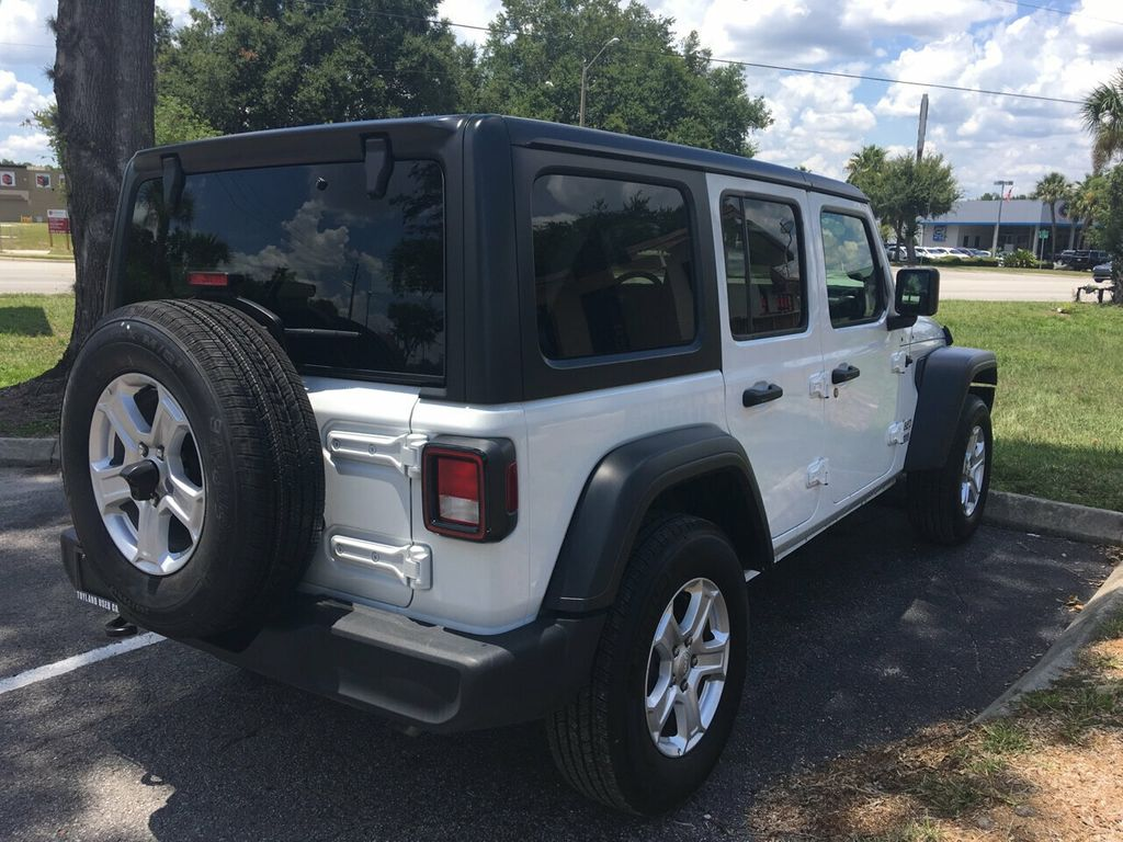 2019 Jeep Wrangler Unlimited Sport S 4x4 - 19074373 - 1