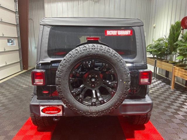 Jeep Wrangler Wheels >> 2019 Used Jeep Wrangler Unlimited Unlimited Sport 4x4 20 Fuel Vapor Rims 2 5 Rough Country Lift At Auto Express Lafayette In Iid 19430418