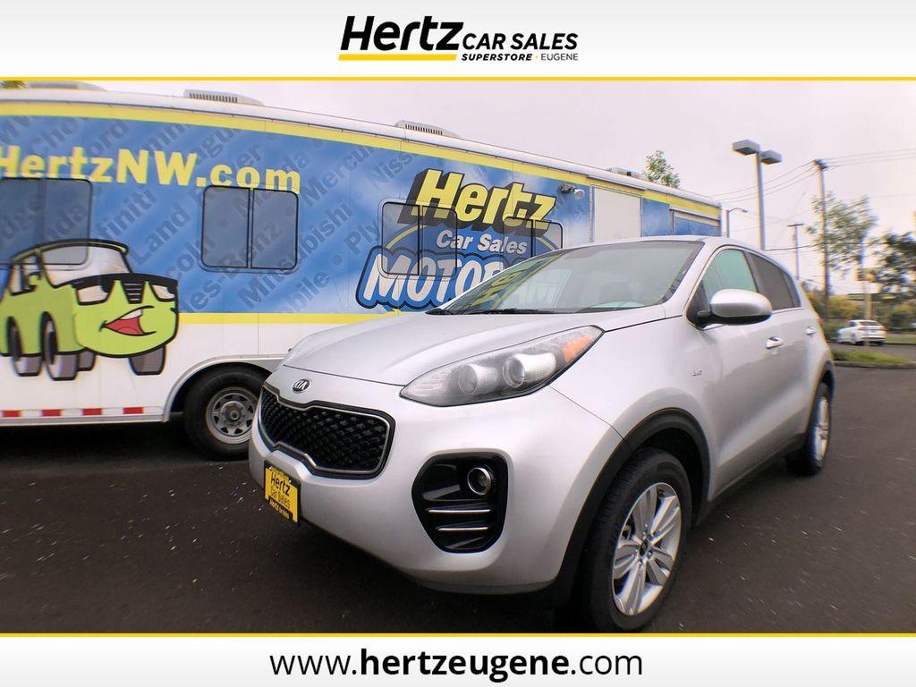 2019 Used KIA SPORTAGE LX AWD at Hertz Car Sales of Eugene, OR, IID 19315488