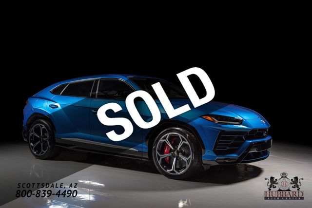 2019 lamborghini urus just in! suv for sale scottsdale, az