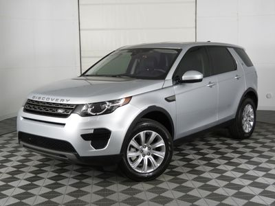 2019 Land Rover Discovery Sport COURTESY VEHICLE SUV