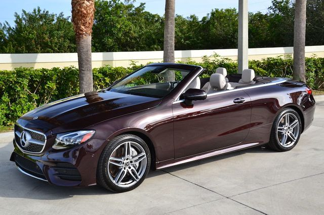 2019 Used Mercedes-Benz E-Class E 450 RWD Cabriolet at ...