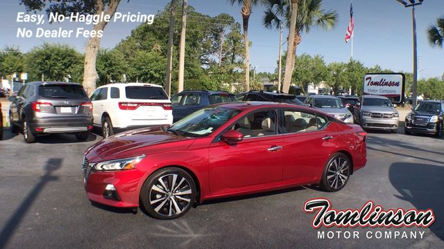 2019 Used Nissan Altima PLATINUM W/ ONLY 370 MILES!! at Tomlinson Motor  Company Serving Gainesville, FL, and the Southeast, FL, IID 18975980