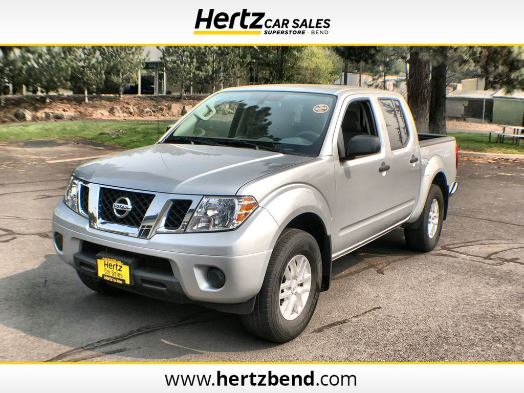 2019 used nissan frontier crew cab 4x4 sv auto at hertz car sales of bend or iid 20259105 hertz car sales of bend