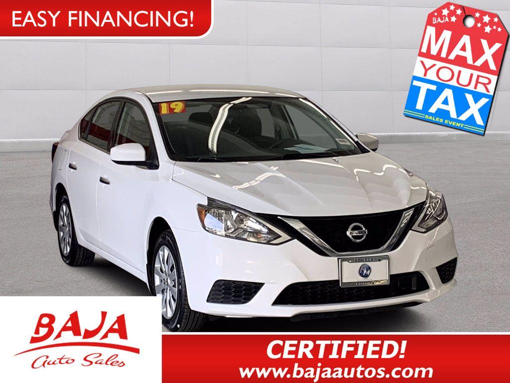 2019 Used Nissan Sentra S Cvt At Baja Auto Sales East Serving Las Vegas Nv Iid 20512558