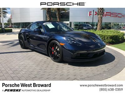 2019 Used Porsche 718 Cayman GTS Coupe for Sale in Fort