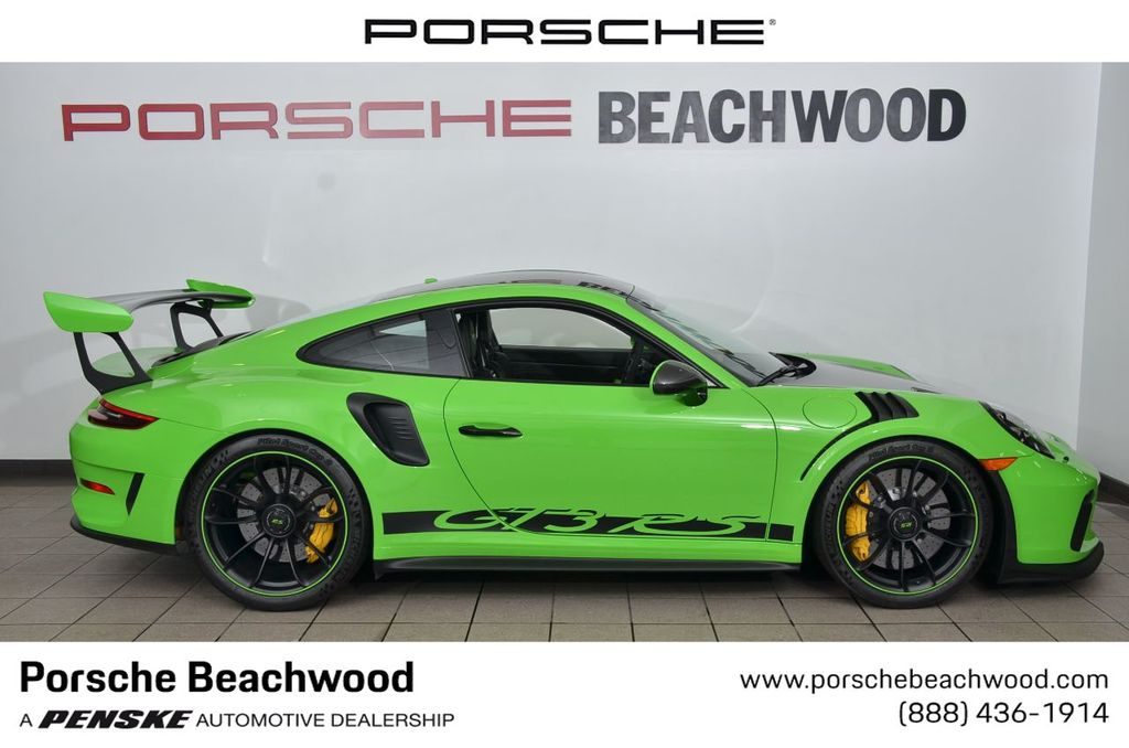 2019 Used Porsche 911 Gt3 Rs At Porsche Beachwood Serving Cleveland Oh Iid 19530921