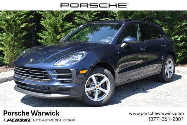 2019 Used Porsche Macan Awd Suv For Sale In Warwick Ri Night Blue Metallic Wp1aa2a54klb00660 On Penskecars Com