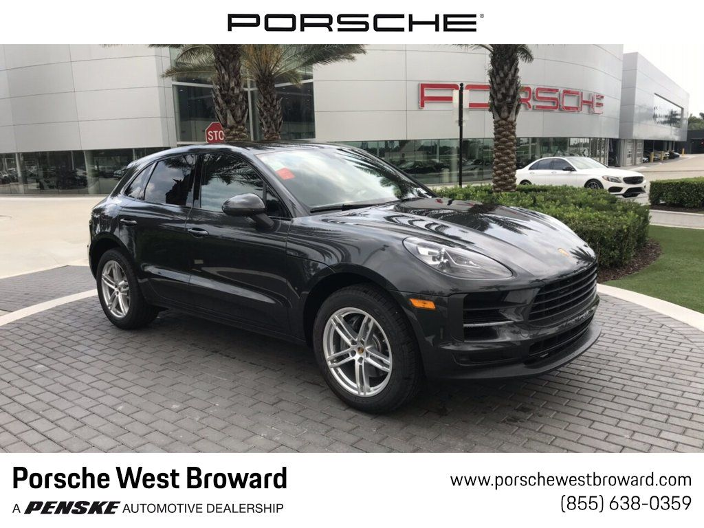 2019 Used Porsche Macan S Awd At Porsche West Broward Serving South Florida Hollywood Fort Lauderdale Fl Iid 19065843