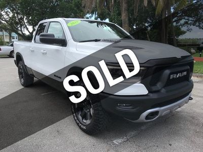"2019 Ram 1500 Rebel 4x4 Quad Cab 6'4"" Box"