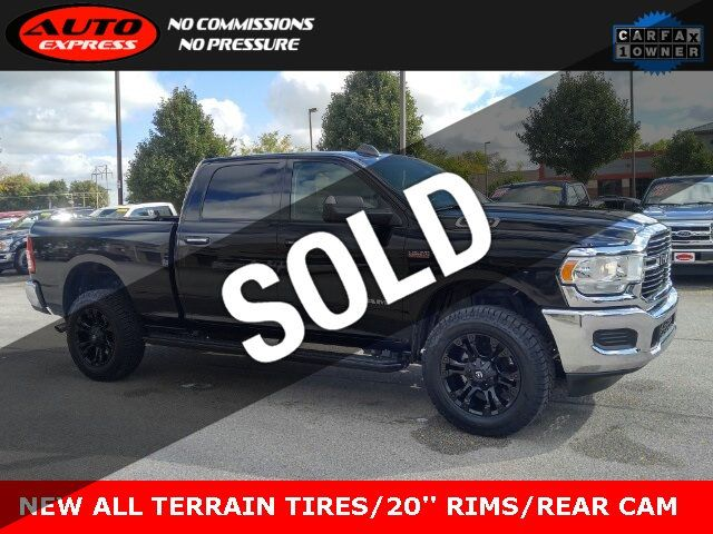 Used Ram 2500 >> 2019 Used Ram 2500 Big Horn Crew Cab 4x4 20 Fuel Vapor Rims New All Terrain Tires At Auto Express Lafayette In Iid 19408209