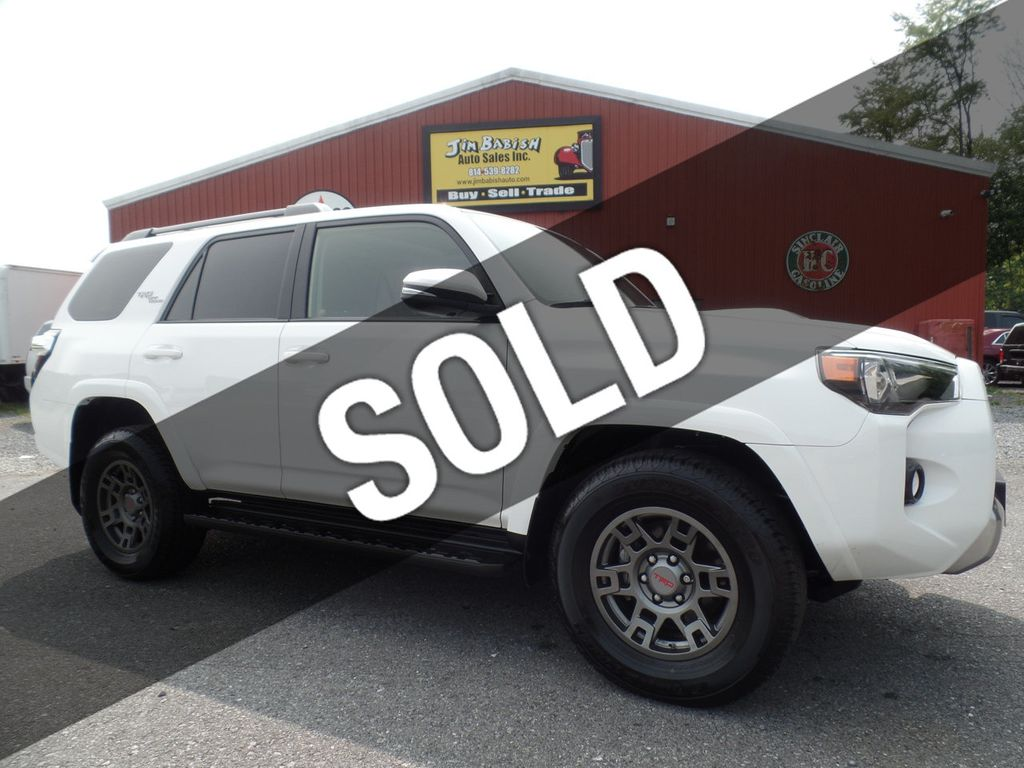 2019 Used Toyota 4runner Trd Off Road Premium 4x4 At Jim Babish Auto Sales Inc Serving Johnstown Pa Iid 20287433
