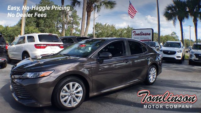 Toyota Gainesville Fl >> 2019 Used Toyota Camry Le At Tomlinson Motor Company Serving Gainesville Fl And The Southeast Fl Iid 19338264