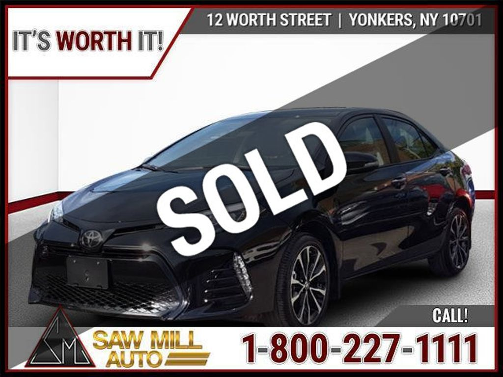 2019 used toyota corolla se at saw mill auto serving. Black Bedroom Furniture Sets. Home Design Ideas