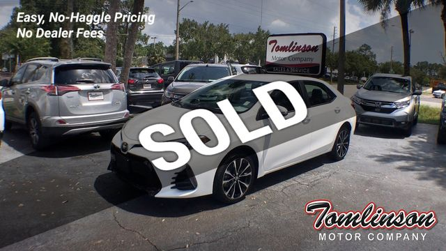 Toyota Gainesville Fl >> 2019 Used Toyota Corolla Se Cvt At Tomlinson Motor Company Serving Gainesville Fl And The Southeast Fl Iid 19281009