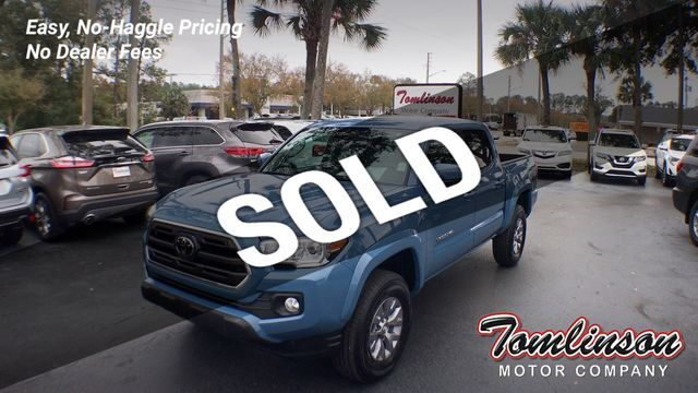 Blue Toyota Tacoma >> 2019 Used Toyota Tacoma Rwd Sr5 With Calvary Blue Exterior Only 1339 Miles At Tomlinson Motor Company Serving Gainesville Fl And The Southeast Fl