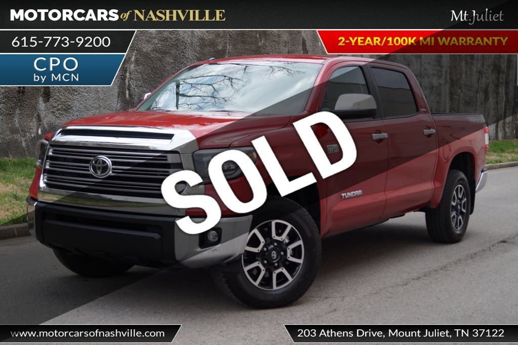 2019 Toyota Tundra TDR Off Road 4WD Limited CrewMax 5.5' Bed 5.7L - 18657550 - 0