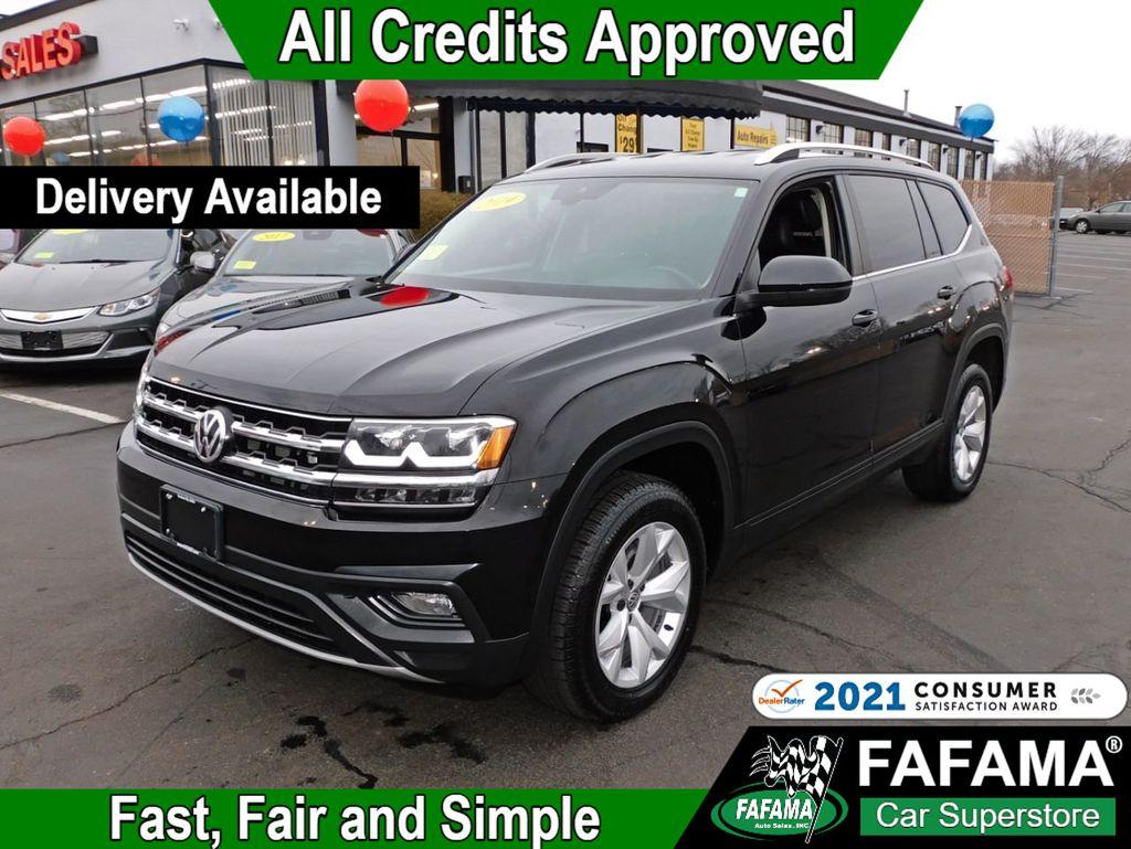 2019 Used Volkswagen Atlas 3 6l V6 Se W Technology 4motion At Fafama Auto Sales Serving Boston Milford Framingham Ma Iid 20505092