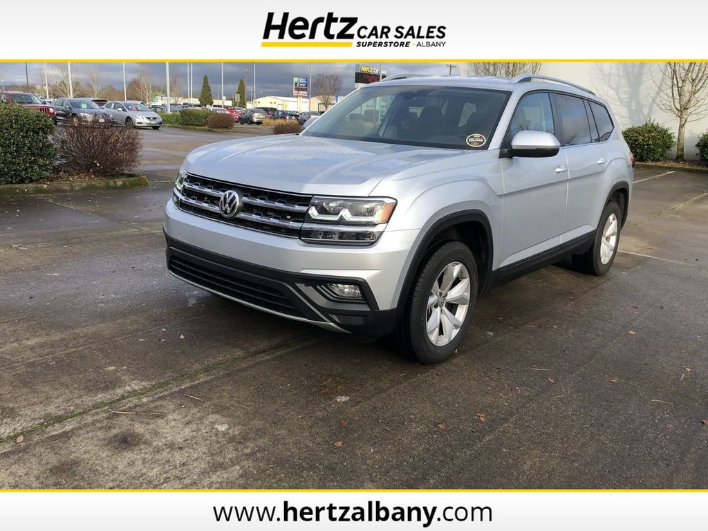 2019 Used Volkswagen Atlas 3 6l V6 Se W Technology 4motion At Hertz Car Sales Of Albany Or Iid 20472965