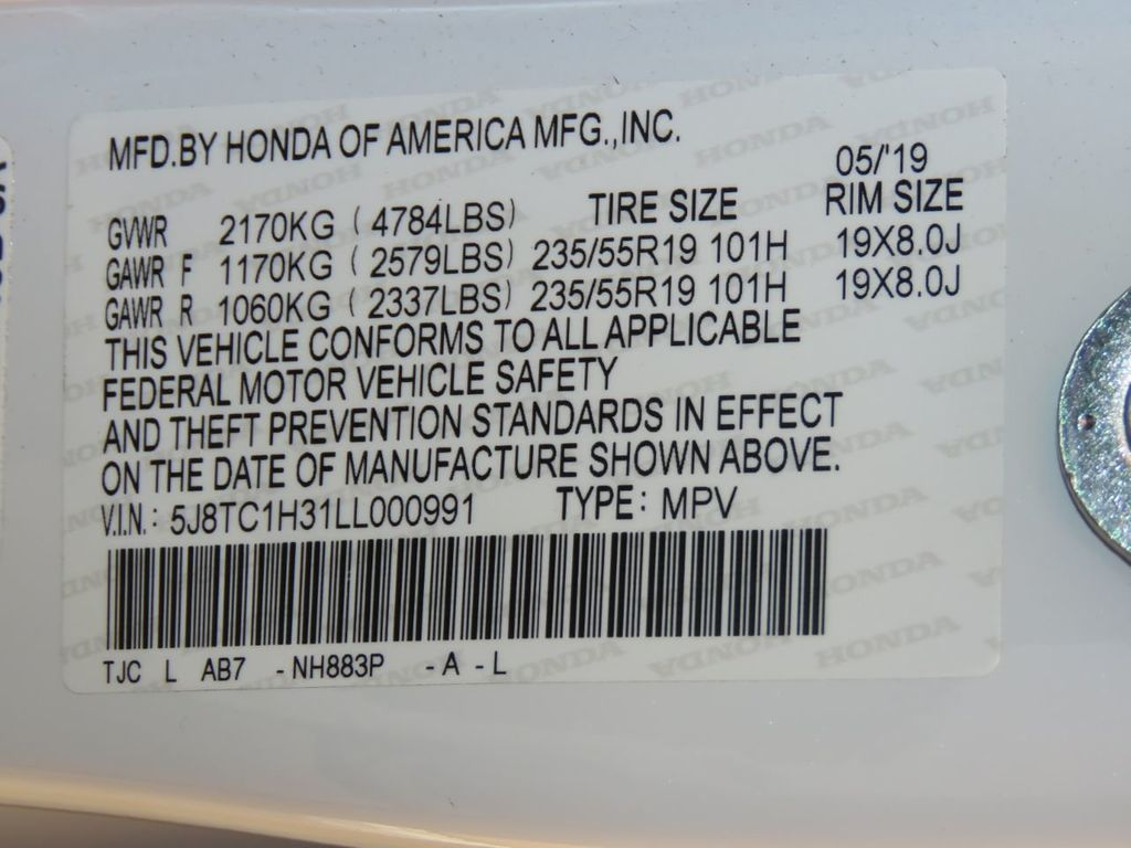 2020 Acura RDX COURTESY VEHICLE  - 19004853 - 34