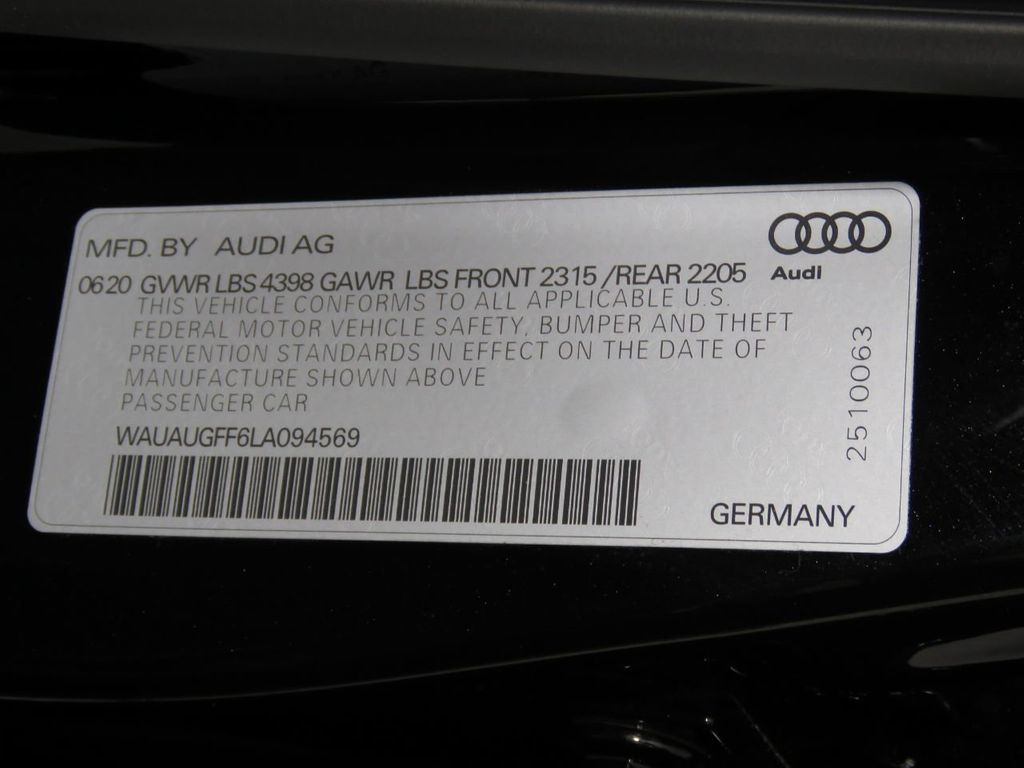 2020 Audi A3 Sedan COURTESY VEHICLE - 20214861 - 32
