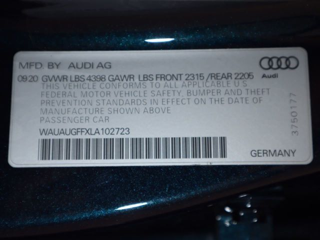 2020 Audi A3 Sedan COURTESY VEHICLE  - 20425865 - 35