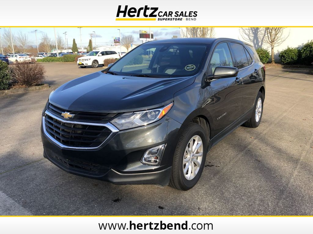 2020 Used Chevrolet Equinox Awd 4dr Lt W 1lt At Hertz Car Sales Of Bend Or Iid 20579684