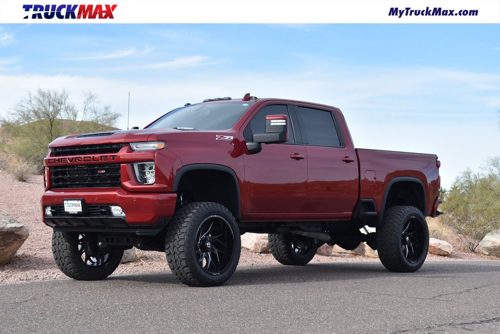 2020 Used Chevrolet Silverado 2500hd Lifted 2020 Chevy 2500hd Duramax Ltz Hard Loaded Z71 At Truckmax Serving Pheonix Az Iid 20515096