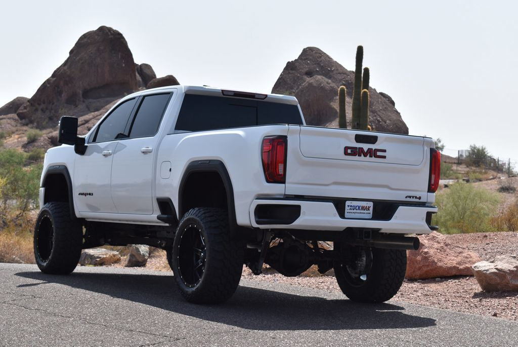 "2020 used gmc sierra 2500hd 4wd crew cab 159"" at4 at"