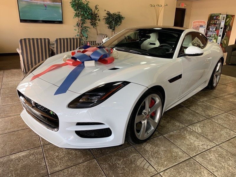 2020 Jaguar F-TYPE Coupe Automatic R AWD - 19621921 - 4