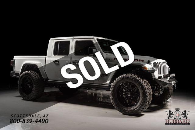 2020 Jeep Gladiator Mopar Lift, Custom Wheels & Tires, Custom Leather Interior.