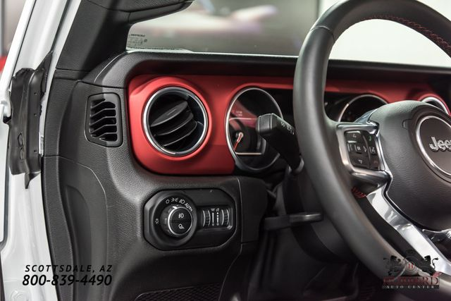 2020 Jeep Gladiator Mopar Lift, Custom Wheels & Tires, Custom Leather Interior.  - Click to see full-size photo viewer
