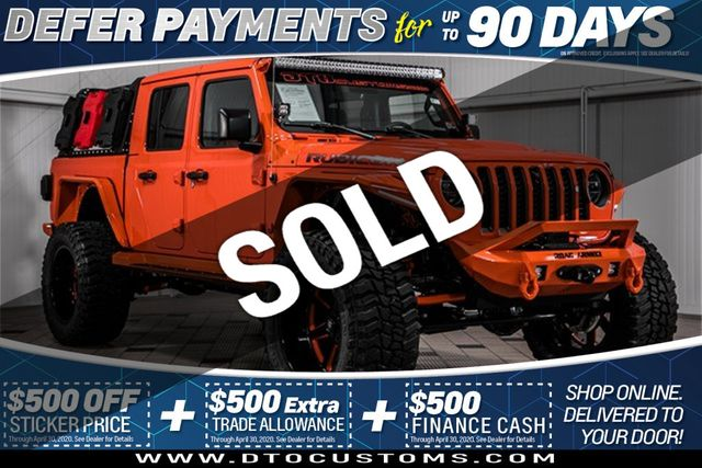 2020 Used Jeep Gladiator Rubicon 4x4 At Dto Customs Serving Gainesville Va Iid 19868543
